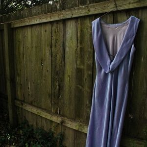 Iridescent Lavender Gown by Scott McClintock
